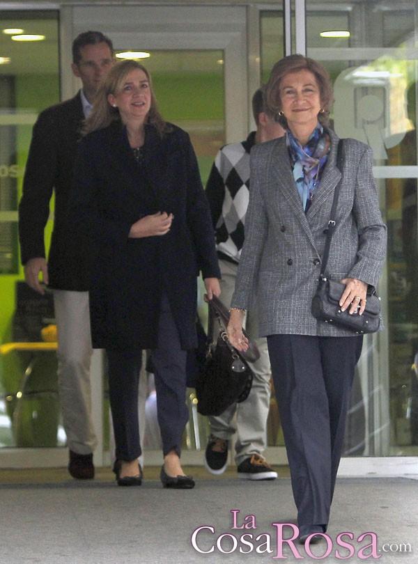 La Reina Doña Sofía habría retirado su apoyo a la infanta Cristina