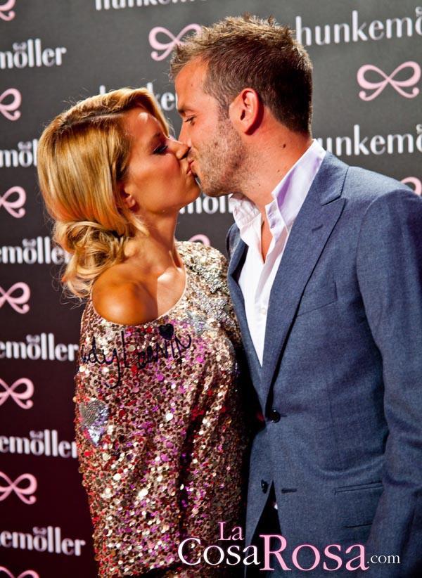Rafael y Sylvie van der Vaart se reconcilian
