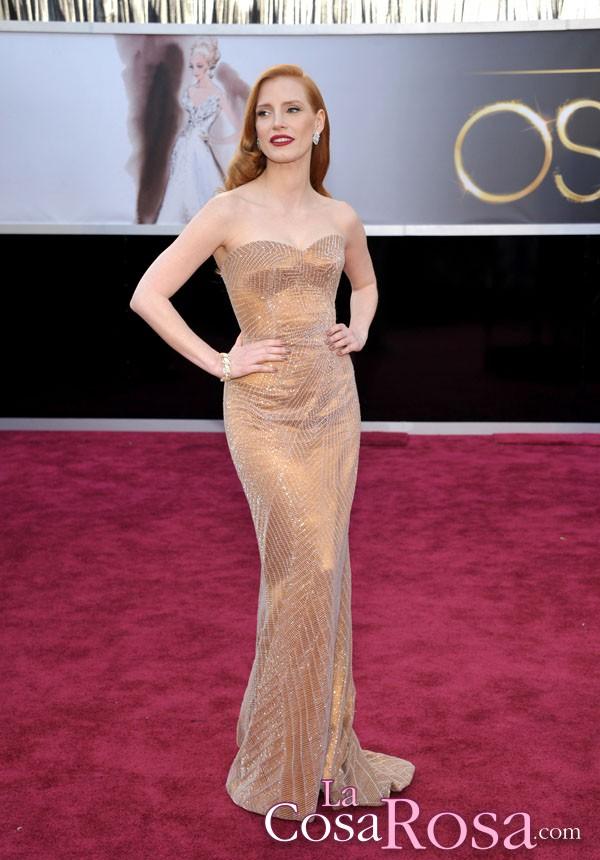 Las más elegantes de los Oscars 2013