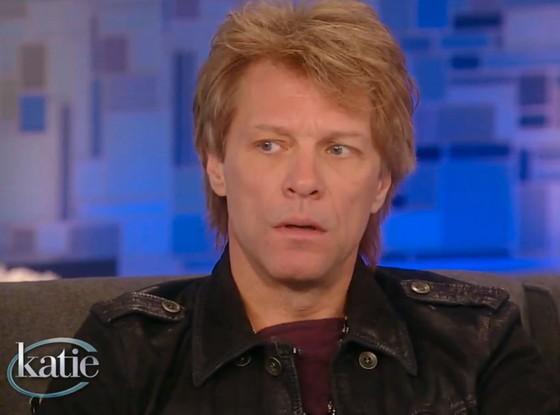 Jon Bon Jovi acudía al programa de Katie Couric y hablaba sobre cómo se encuentra Stephanie Rose después de haber sufrido una sobredosis de heroína el ... - jonbonjovihijahabla