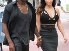 Kim Kardashian y Kanye West afrontan su paternidad sin un domicilio fijo