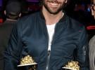 Jennifer Lawrence, Bradley Cooper y Taylor Lautner, premiados en los MTV Movie Awards 2013