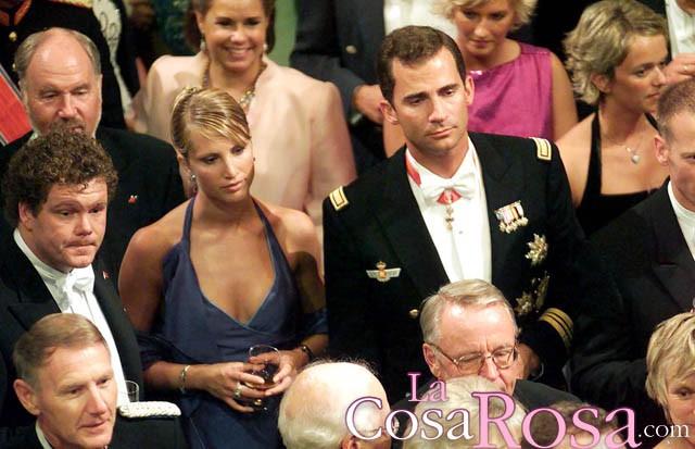 Felipe de Borbón y Eva Sannum cenan juntos