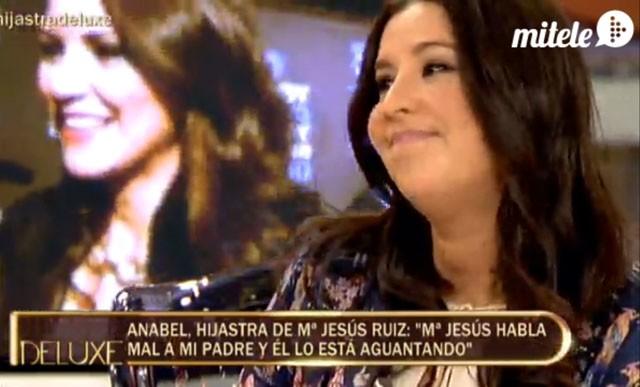 Anabel Gil habla de la relación de su padre con María Jesús Ruiz - anabelgil