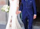 Israel Bayón y Cristina Sainz se casan rodeados de «ex»