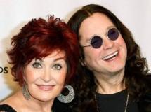 Ozzy y Sharon Osbourne comen juntos en Beverly Hills