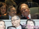 El Rey Juan Carlos se deja ver en el Santiago Bernabéu