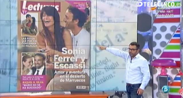 La confirmación del noviazgo de Sonia Ferrer y Álvaro Muñoz Escassi en Lecturas
