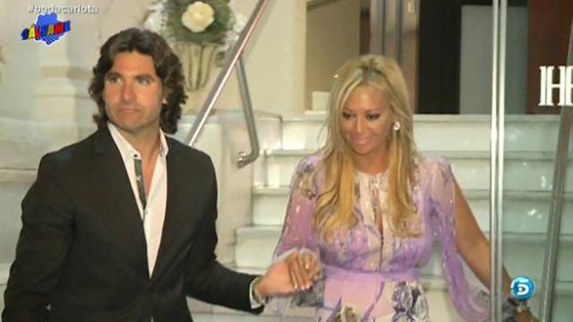 Belén Esteban reaparece en la boda de Carlota Corredera