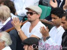 Leonardo DiCaprio, seguidor del tenis en Roland Garros