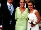 Paula Echevarría y David Bustamante disfrutan de una boda en Galicia