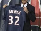 David Beckham dona su salario como jugador del PSG a causas benéficas