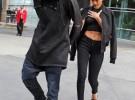 Rihanna supera su ruptura con Chris Brown con Lewis Hamilton