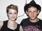 Los actores Evan Rachel Wood y Jamie Bell, padres de un niño