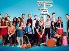 Lea Michele y sus compañeros de Glee homenajean a Cory Monteith