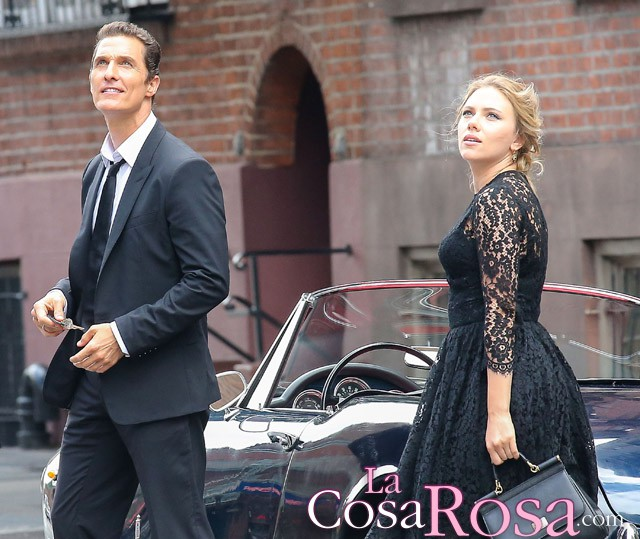 Scarlett Johansson y Matthew McConaughey, pareja para Dolce & Gabbana