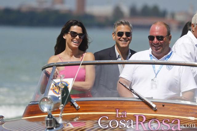 George Clooney y Sandra Bullock deslumbran en la 70ª edición del Festival de Cine de Venecia