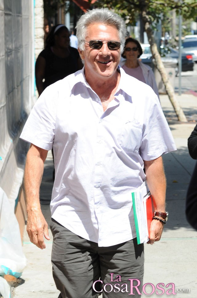 Dustin Hoffman operado con éxito tras serle diagnosticado un cáncer