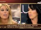 Gaby y Carmen se enfrentan en el Deluxe por Esteban