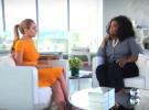 Lindsay Lohan le cuenta a Oprah Winfrey que está centrada