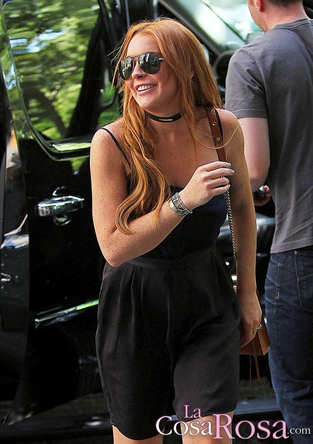 Lindsay Lohan, primeras fotos de su recuperación