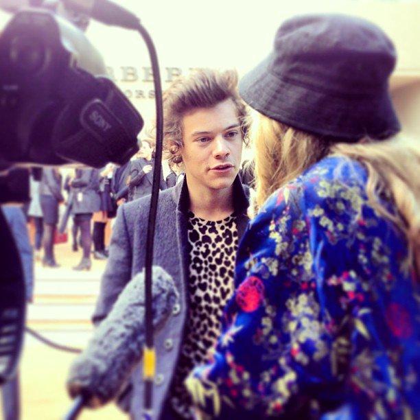 Harry Styles aclara que Cara Delevingne no es su chica