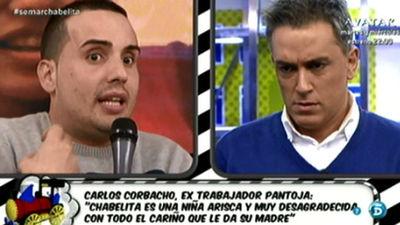 Carlos Corbacho, extrabajador de Isabel Pantoja, critica a la hija de la cantante