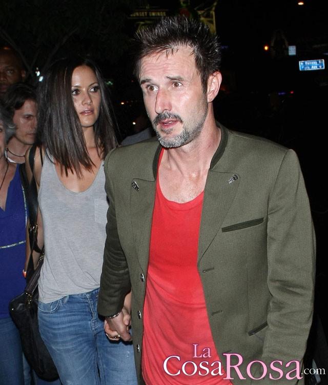 David Arquette espera un hijo con su novia Christina McLarty