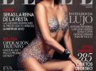 Eva Longoria, desnuda y cubierta de cristales Swarovski para Elle