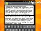 Estefanía, madre del primer hijo de Alberto Isla, muestra unos mensajes comprometidos