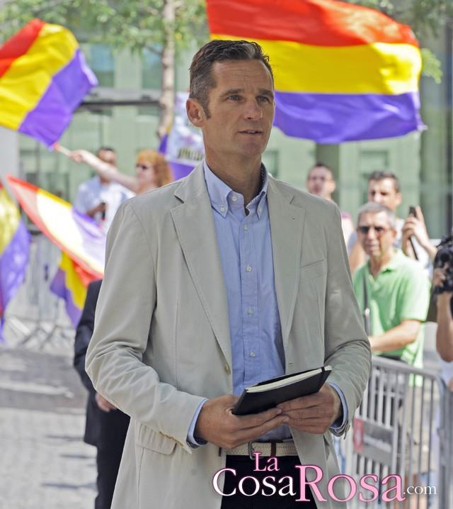 Iñaki Urdangarin regresa a La Zarzuela