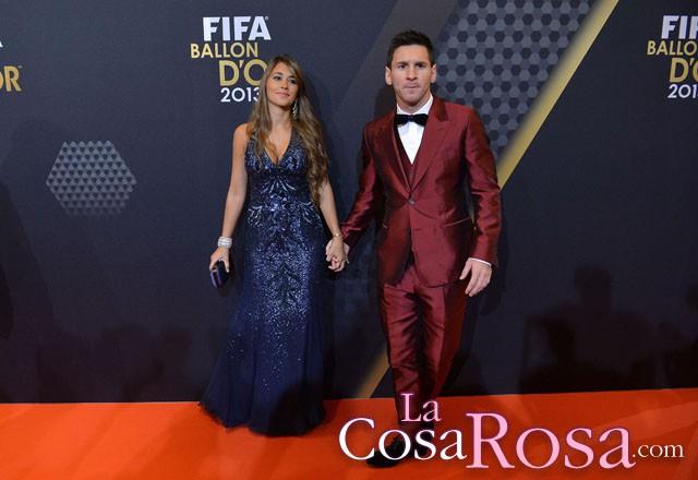 La entrega del Balón de Oro a Cristiano Ronaldo, una pasarela de moda