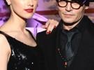 Johnny Depp y Amber Heard hacen su primera aparición pública como pareja