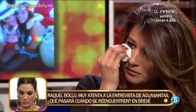 Aguasantas comenta que abortó dos veces del hijo de Raquel Bollo