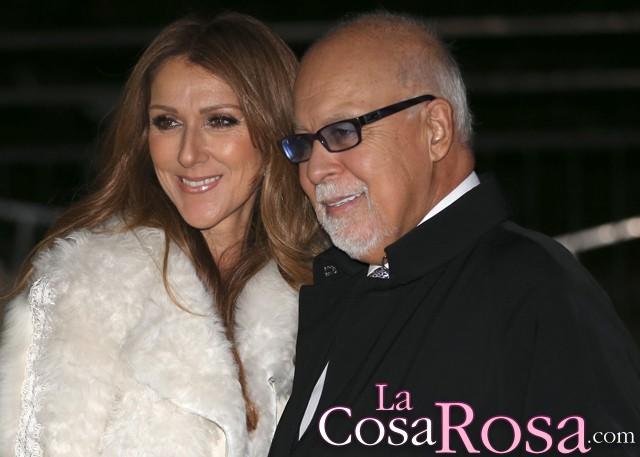 El marido de Celine Dion operado de un tumor en la garganta