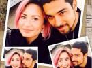 Se filtran fotos de Demi Lovato desnuda y besándose con Wilmer Valderrama
