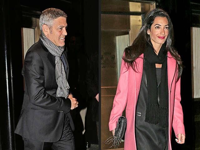 George Clooney y Amal Alamuddin se comprometen