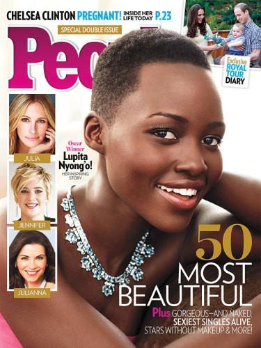 Lupita Nyong'o, la más bella para People en 2014