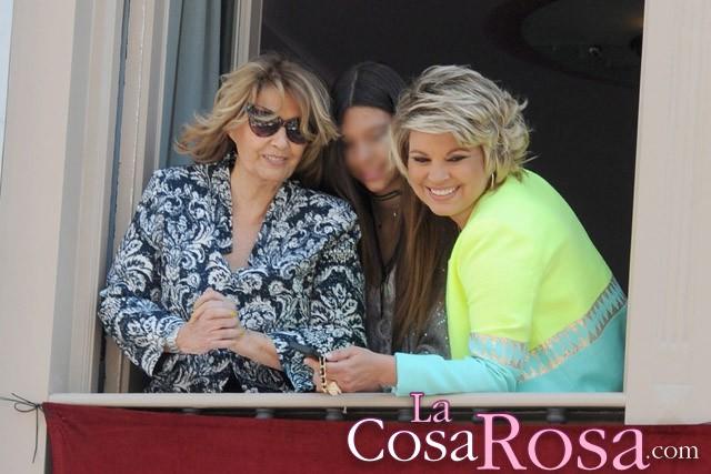 María Teresa Campos y Terelu disfrutan del Domingo de Ramos en Málaga