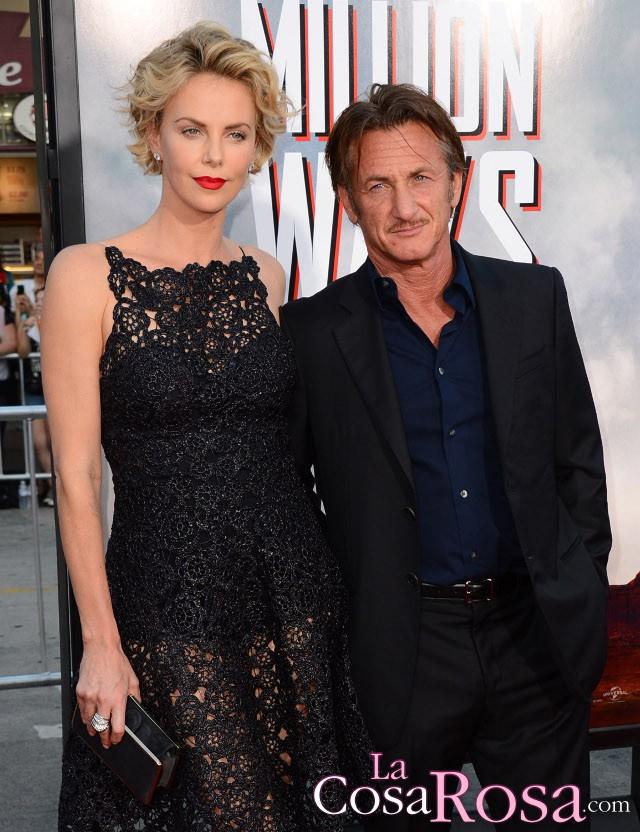 Charlize Theron comenta su relación con Sean Penn