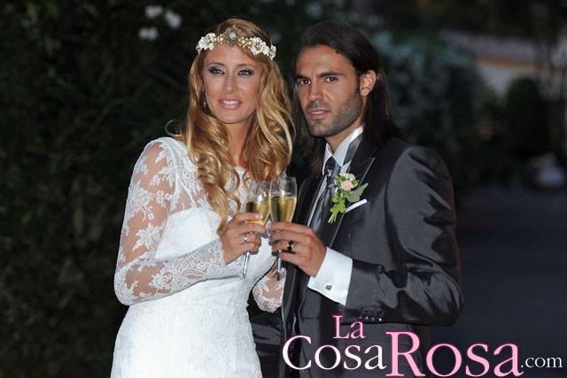 La modelo Elisabeth Reyes y el futbolista Sergio Sánchez ya son marido y mujer