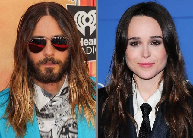 Jared Leto y Ellen Page, los vegetarianos más sexies de 2014 para PETA