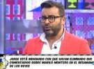 Jorge Javier Vázquez, molesto por la censura de Lecturas a un comentario sobre Mariló Montero