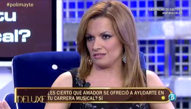 Mayte Adrián, una nueva amiga de Amador Mohedano que pasa el polígrafo