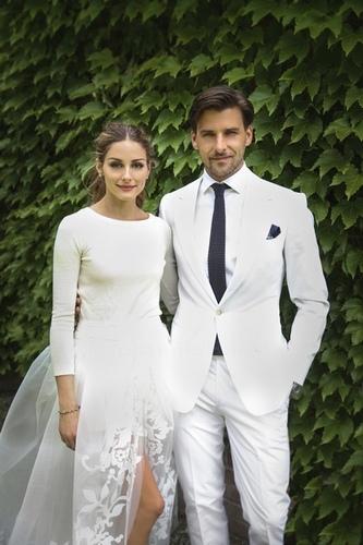 Olivia Palermo muestra las fotos de su boda con Johannes Huebl