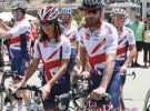 Pippa Middleton se convierte en una ciclista solidaria