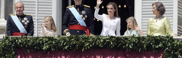 Felipe de Borbón es proclamado Rey de España