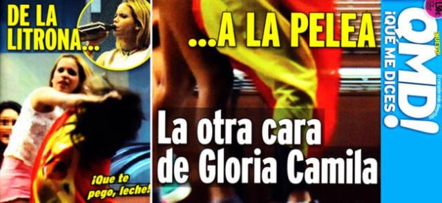 Gloria Camila asegura que las palabras duelen más que los golpes