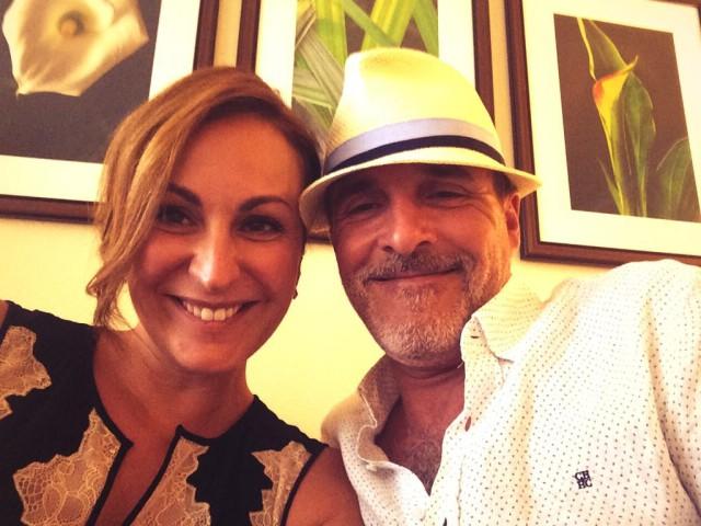 Ana Milán y Fernando Guillén-Cuervo se casan en Florida