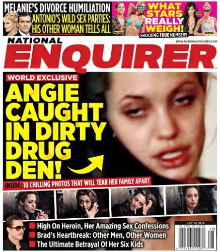 Sale a la luz un vídeo de Angelina Jolie drogada